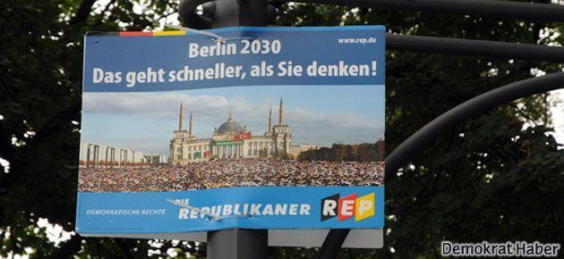 Almanya seçimlerinde İslam ve Türk düşmanlığı