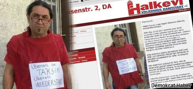 Almanya'da Halkevi üyesine infaz