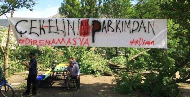 Amasya Dayanışması: Gezi neyse bu park da o