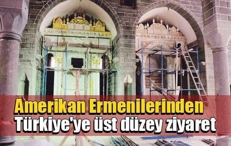 Amerikan Ermenilerinden Türkiye'ye üst düzey ziyaret