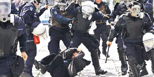 Anayasa Mahkemesi,  polis şiddetine 20 bin TL manevi tazminat cezası kesti