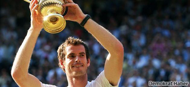 Andy Murray Wimbledon şampiyonu