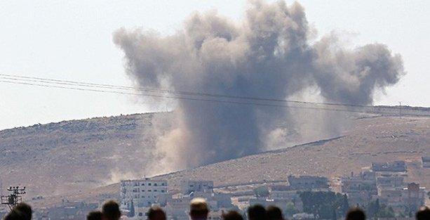 ANF: Kobani'de çok şiddetli iki patlama