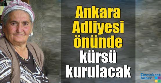 Ankara Adliyesi önünde kürsü kurulacak