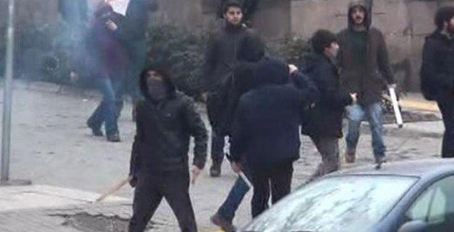 Ankara Üniversitesi'nde Hrant anmasına saldırı
