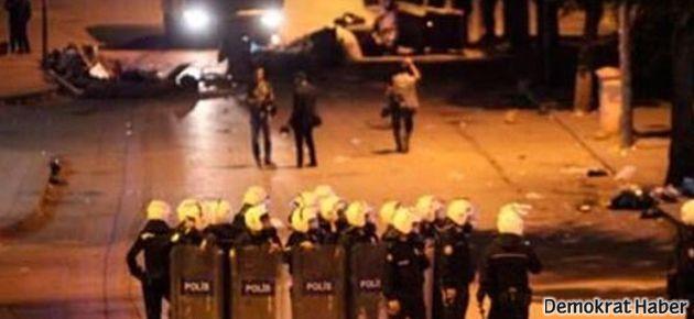Ankara'da gece boyunca polis saldırısı devam etti