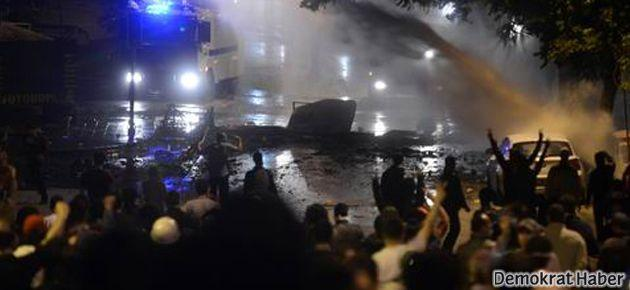 Ankara'da polis direnişçilere yeniden saldırdı