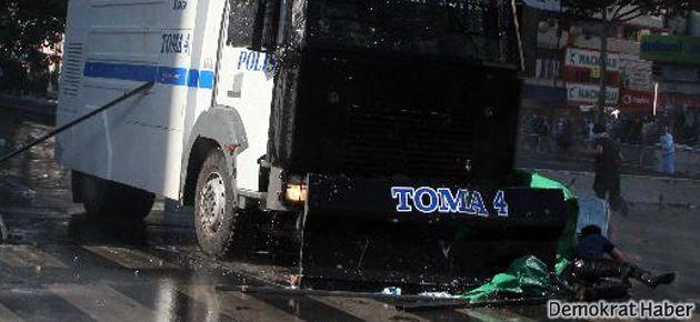 Ankara'da TOMA bir genci ezdi; kitle Kızılay'a girdi