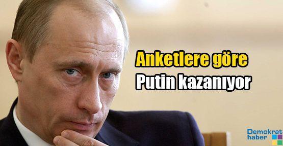 Anketlere göre Putin kazanıyor