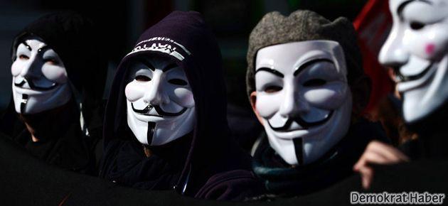 'Anonymous'a operasyon: 4 gözaltı