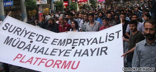 Antakya'da yüzlerce kişi Reyhanlı saldırısını kınadı