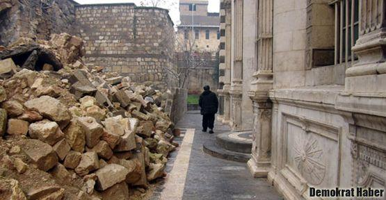 Antep'te 120 yıllık kilise yıkıldı