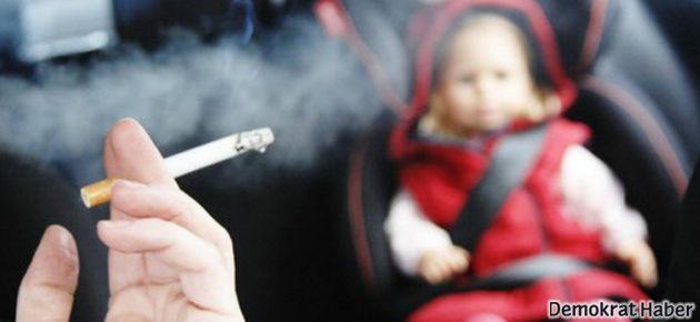 Arabada sigara içmeye yasak geliyor