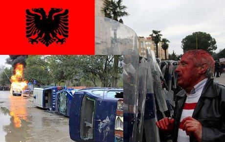 Arnavutluk'ta isyan vakti!