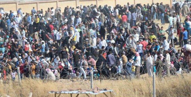 Asker sınırda Suriyelilere 'uyarı ateşi' açtı