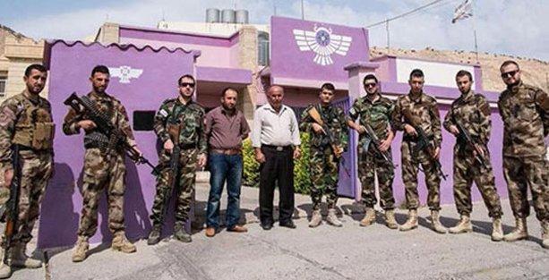 Asuriler de IŞİD'e karşı 'savunma birlikleri' kuruyor