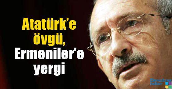 Atatürk'e övgü, Ermeniler'e yergi