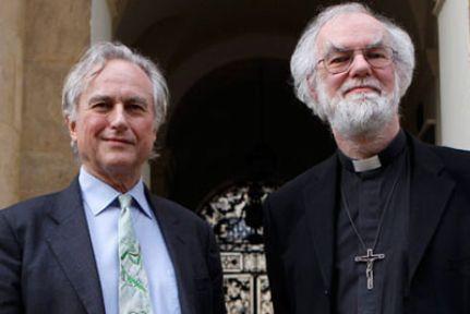 Ateist Dawkins Başpiskopos'a karşı