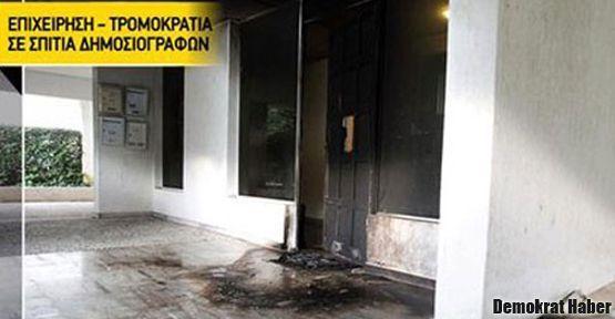 Atina'da gazetecilere bombalı saldırı