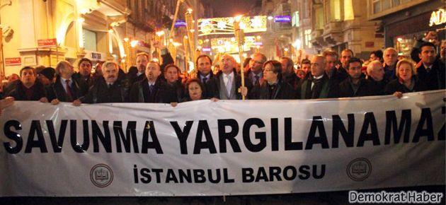 Avukatlar: Savunmaya değil çetelere barikat!