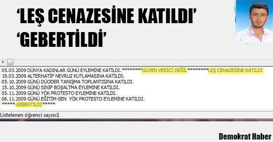 Aydın Erdem: GEBERTİLDİ!