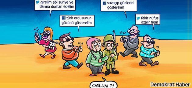 Aydınlardan Suriye'de 3. yol bildirisi