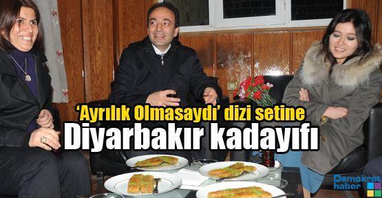 'Ayrılık Olmasaydı' dizi setine Diyarbakır kadayıfı