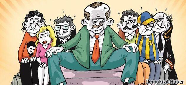 'Bacaklarını topla' ve Erdoğan LeMan'ın kapağında