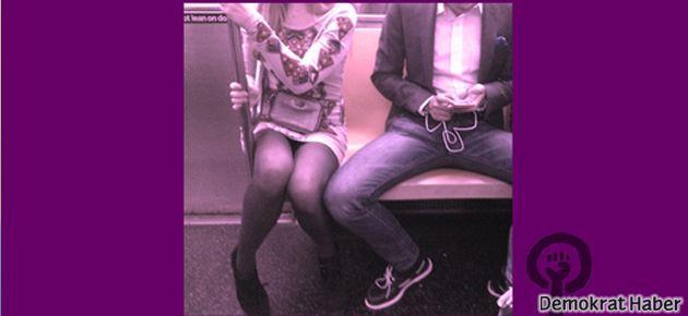 'Bacaklarını topla yerimi işgal etme'