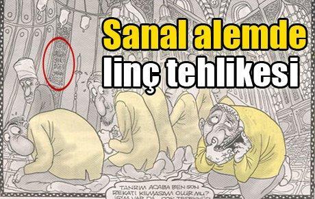 Bahadır Baruter'in karikatürü tartışılıyor...