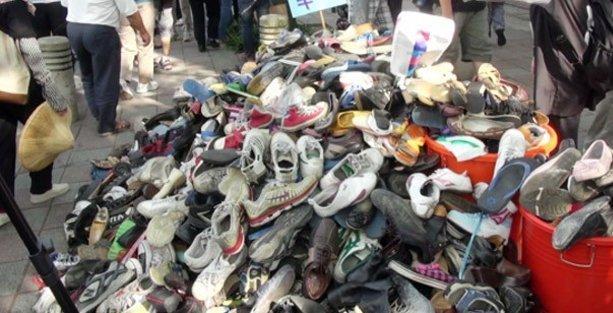 Bakan da onayladı, binlerce zehirli ayakkabı piyasada