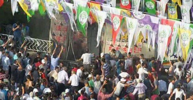 Diyarbakır'da HDP mitingine saldırı düzenleyen IŞİD'ci iddiası