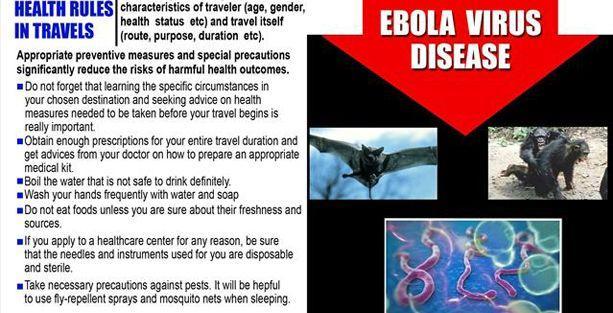 Bakanlıktan İngilizce Ebola broşürü