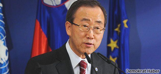 Ban Ki-mun Suriye'de operasyona karşı