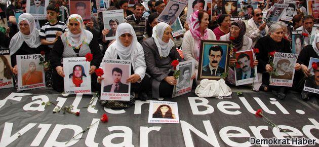 'Barışı da kayıplarımızı da hakikati de istiyoruz'