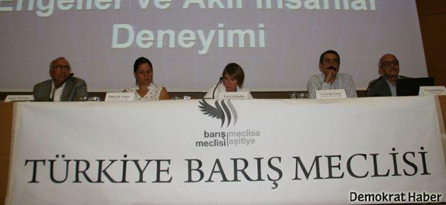 'Barışı tartışıyoruz' konferansı başladı