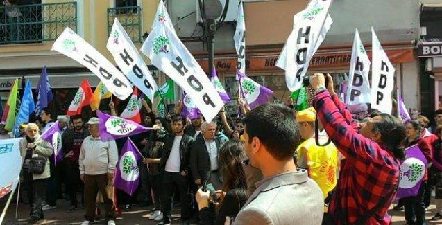 Bartın'daki 1 Mayıs kutlamalarına AKP mitingi engeli