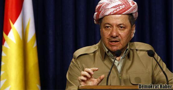 Barzani görüşmelerden çok mutlu ve umutlu