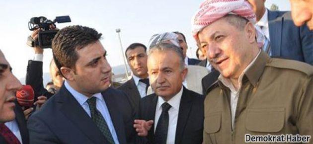 Barzani ve Şivan Perwer Türkiye'de