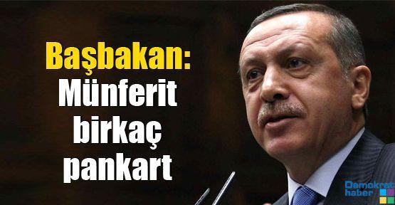 Başbakan Hocalı mitingine sahip çıktı: Münferit birkaç pankart