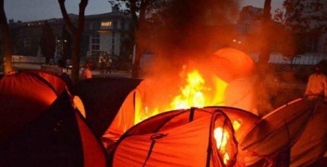 Başsavcılık'tan, Gezi'de 'çadırları yakın' emrini veren polise hapis cezası istemi