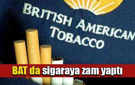 BAT da sigaraya zam yaptı