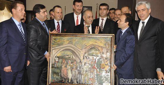 Baydemir ve İzmir heyetinden barış mesajları