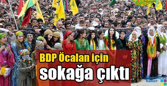 BDP Öcalan için sokağa çıktı