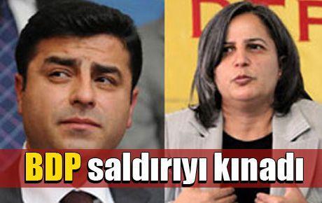 BDP saldırıyı kınadı