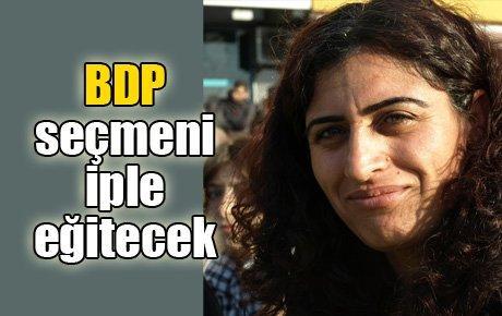 BDP seçmenini iple eğitecek