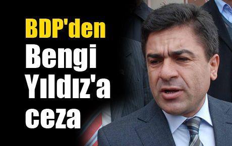 BDP'den Bengi Yıldız'a ceza