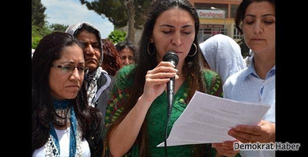 BDP'li kadınlardan Rojavalı kadınlarla dayanışma yürüyüşü