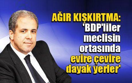 'BDP'liler meclisin ortasında evire çevire dayak yerler'