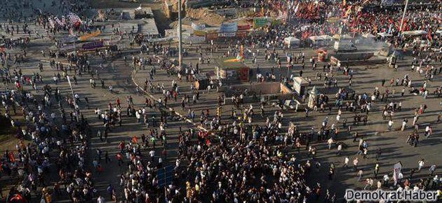 BDP'liler Taksim'e yürüyor